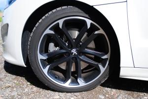 Solstice 19'' Matt Black Onyx wheel, 2012 Peugeot RCZ