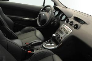 First generation Peugeot 308 interior