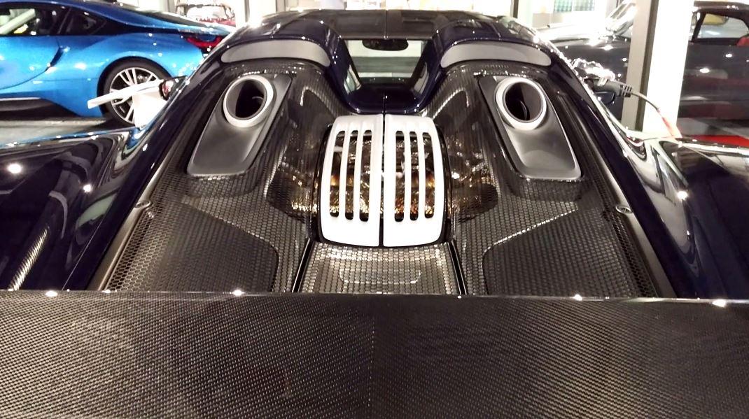 2014 porsche 918 spyder - Porsche 918 Spyder Engine