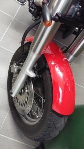 Front fender, 2000 Yamaha XVS 1100 Drag Star Classic Bobber conversion