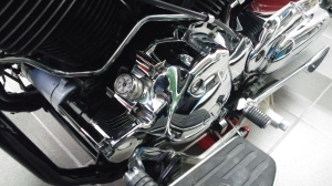 V2 engine, 2000 Yamaha XVS 1100 Drag Star Classic Bobber conversion