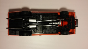 "Undercarriage, 1969 Dodge Charger R/T ""General Lee"" ERTL"