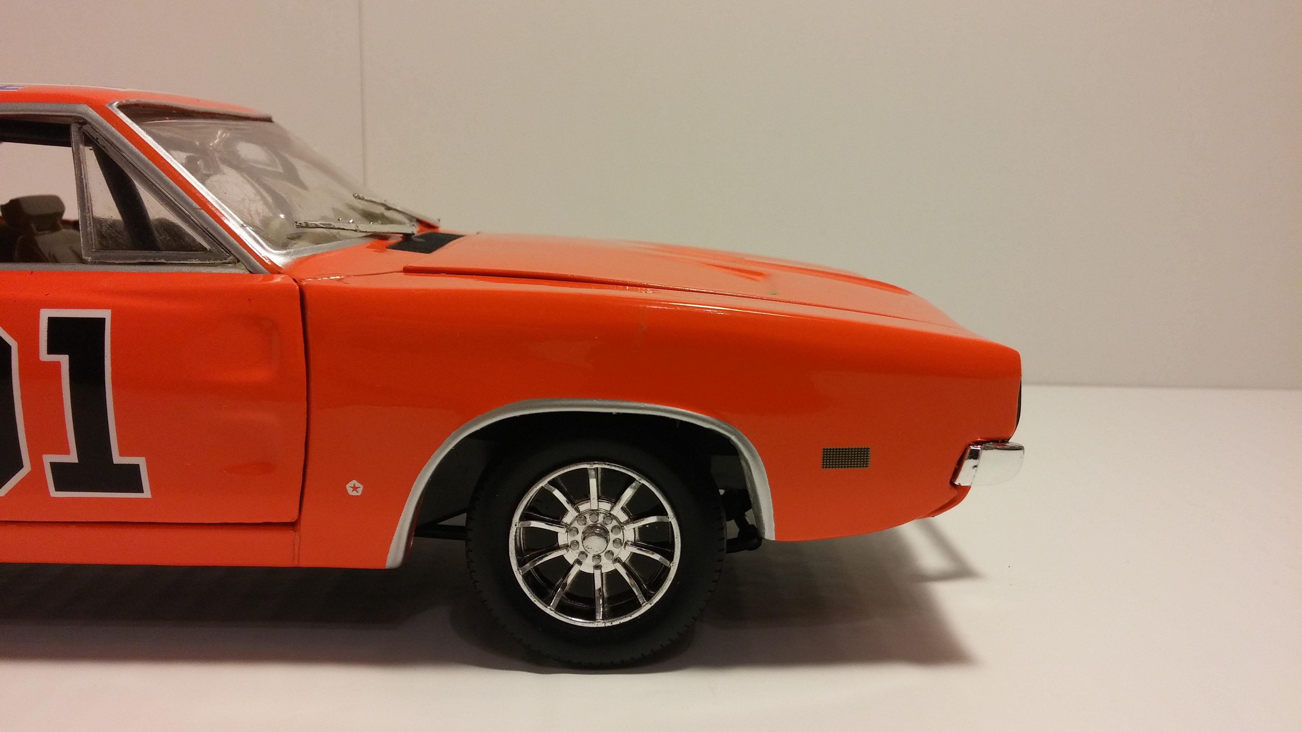 General Lee 01 Herren Kapuzenpullover Dodge Charger 1969 RT//440 #559-BK