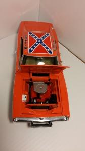"""Engine bay, 1969 Dodge Charger R/T """"General Lee"""""""