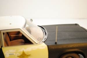 "Windscreen whipers, 1974 Dodge Monaco Sedan ""Bluesmobile"""