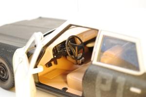 """Interior, 1974 Dodge Monaco Sedan """"Bluesmobile"""""""