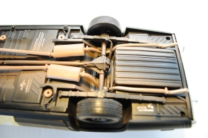 "Undercarriage, 1974 Dodge Monaco Sedan ""Bluesmobile"""