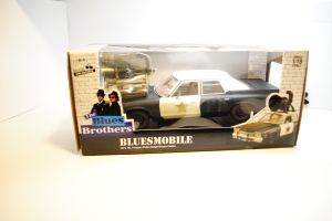 "In the box, 1974 Dodge Monaco Sedan ""Bluesmobile"""
