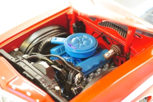 "Engine bay, 1976 Ford Gran Torino ""Starsky & Hutch"""