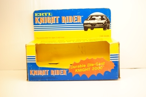 "Packaging, 1982 Pontiac Firebird Trans Am ""K.I.T.T."" 1/25 ERTL"