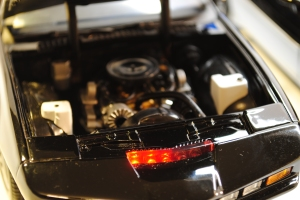 "Engine bay, 1982 Pontiac Firebird Trans Am ""K.I.T.T."""