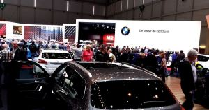 BMW stand, 2016 Geneva International Auto Show
