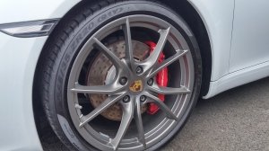 Front wheel, Porsche 991 Carrera S Coupé, 2nd generation