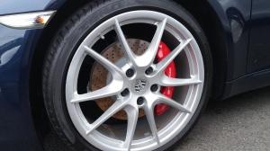 Front wheel, Porsche 991 Carrera S Cabriolet, 1st generation