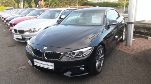 BMW 420d convertible, Frank Keane BMW, Blackrock