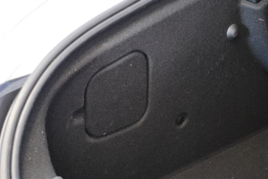 Left taillight cover, 2012 Peugeot RCZ